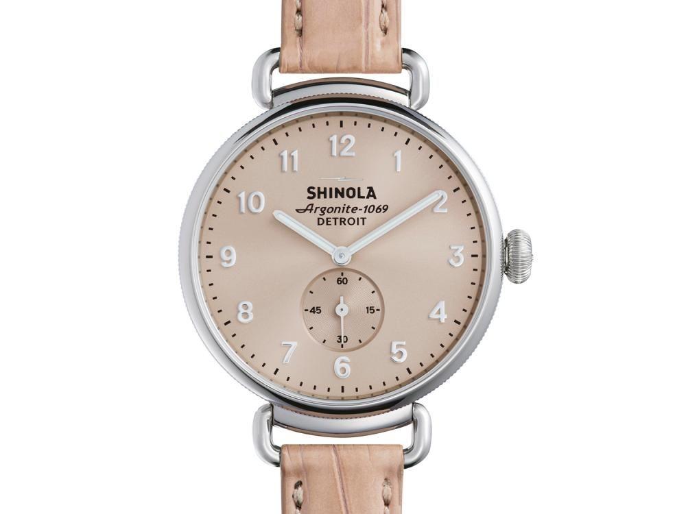 Shinola The Canfield Women's 38MM Nude Blush Watch