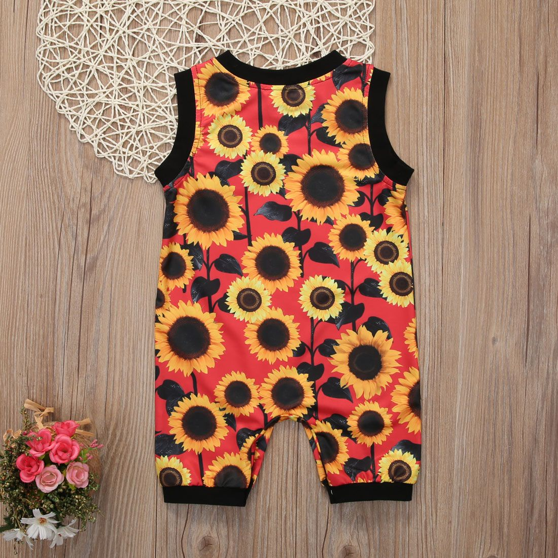 c24e5b616fe16 Sunny Sunflower Romper | Baby Rompers and Toddler Clothing | Baby ...