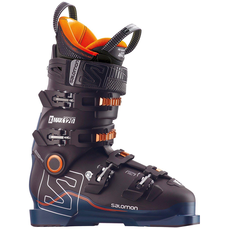 Salomon X Max 120 Ski Boots 2018 25.5 in Black   Aluminum
