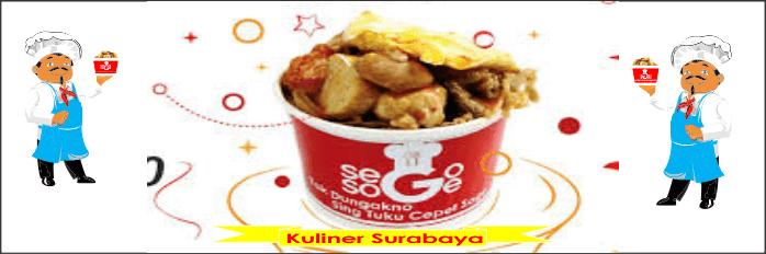 Kuliner Surabaya Sego Soge Adalah Makanan Sego Khas Surabaya
