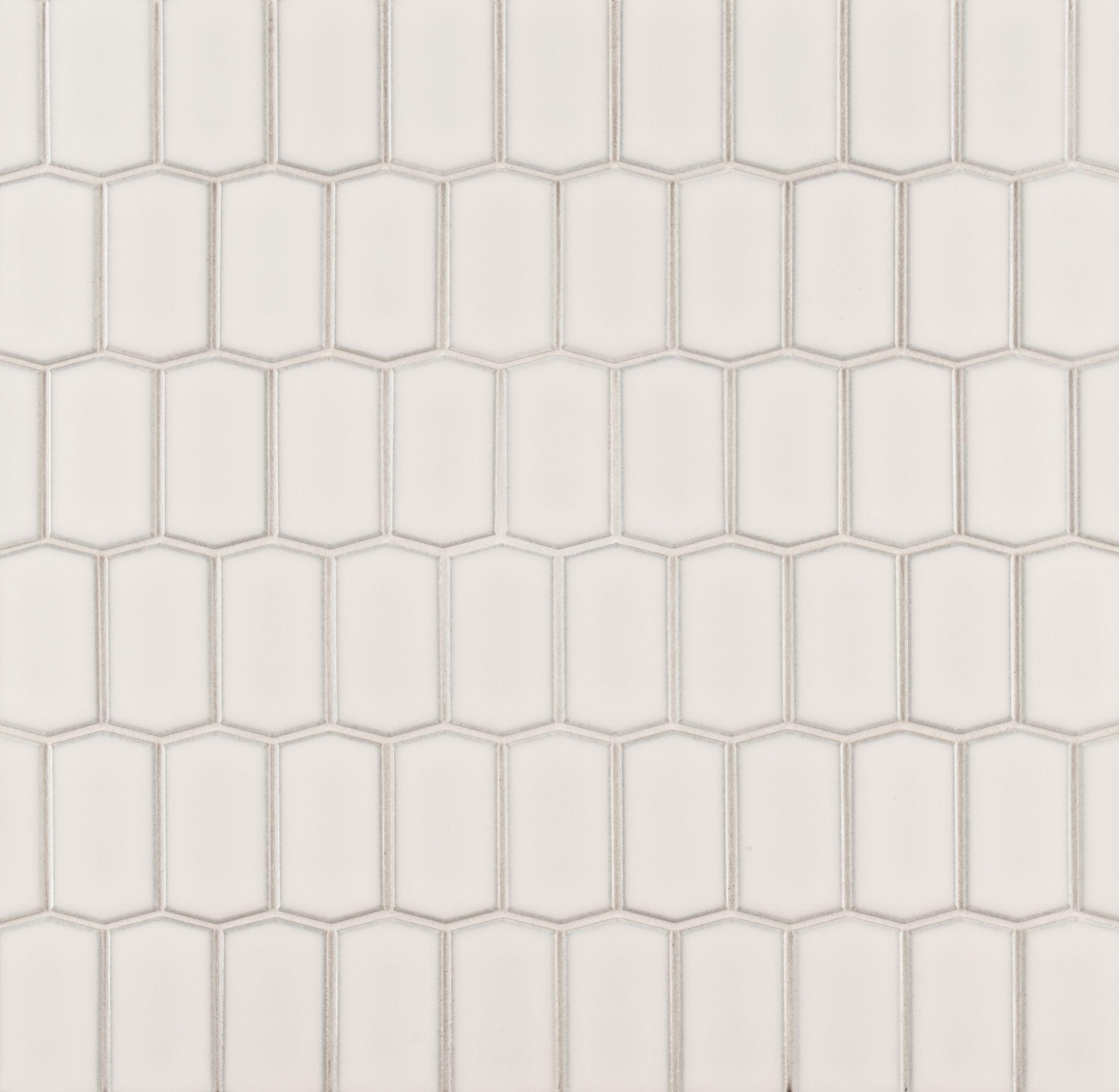 Ann Sacks Savoy Hive Ceramic Mosaic In Ricepaper Let S Do