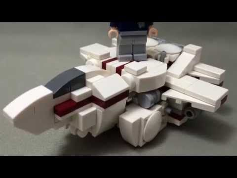 "Photo of LEGO mini variable-fighter ""BLITZ"" TRANSFORM!!!!!!!(レゴで変形ロボ7…"