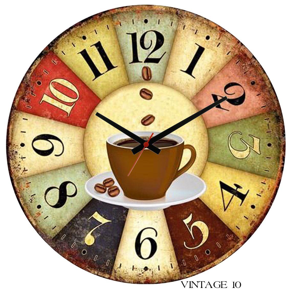 Dê Uma Cara Nova Na Sua Casa Ou Na Sua Empresa Com Um Relógio Totalmente Diferenc Relógios De Parede Vintage Relogio De Parede Personalizado Relógio De Parede