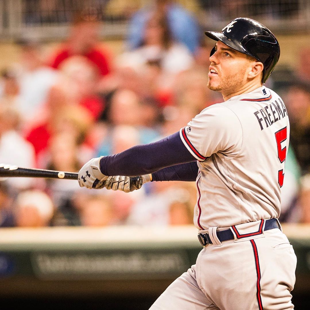 All Freddie Freeman Does Is Hit The Post Atlanta Braves All Freddie Freeman Does Is Hit 8230 Appeared First On Raw Chili Atlanta Braves Braves Atlanta