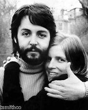 Paul McCartney and Linda ...
