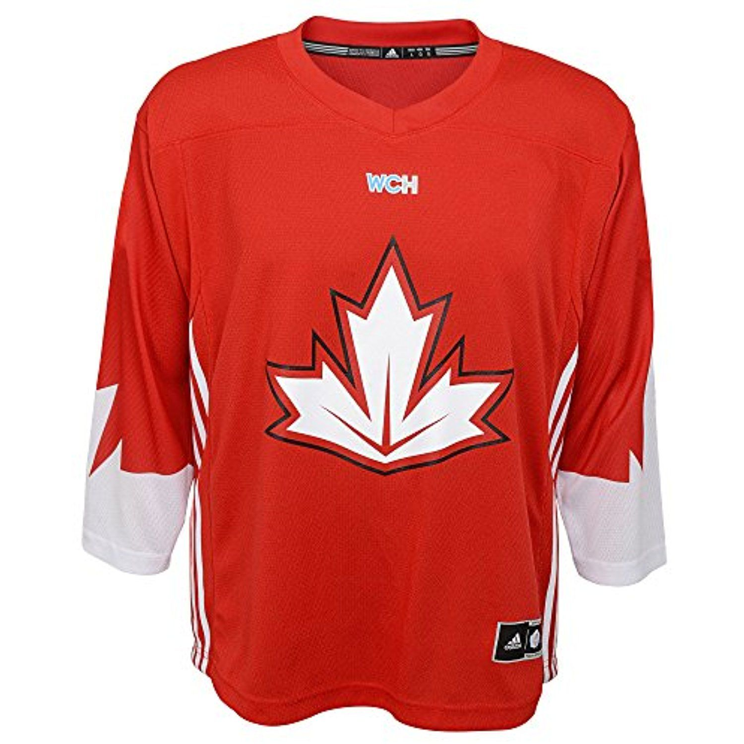 Canada World Cup Of Hockey Blank Red Youth Adidas Replica Jersey For More Information Visit Image Link Th Canada Hockey Hockey World Cup World Cup Jerseys