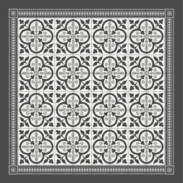 Coup de foudre pour ces carreaux artisanaux en ciment - Carreau de ciment noir et blanc ...
