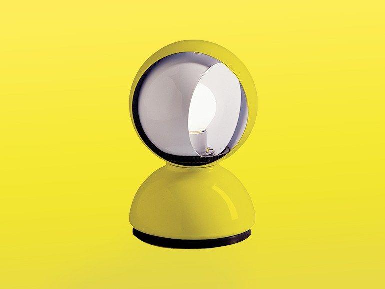 Lampe de table en métal enduit ECLISSE Archiproducts Limited Edition by Artemide Italia design Vico Magistretti