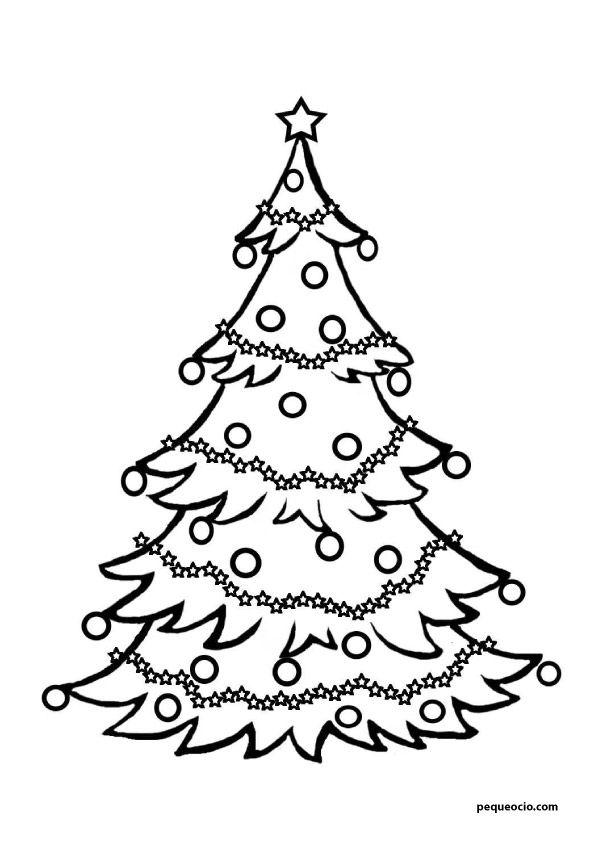 20 Arboles De Navidad Para Colorear Y Como Dibujar Un Arbol Navid En 2020 Arbol De Navidad Para Colorear Imagenes De Arbol De Navidad Dibujos De Navidad Para Imprimir