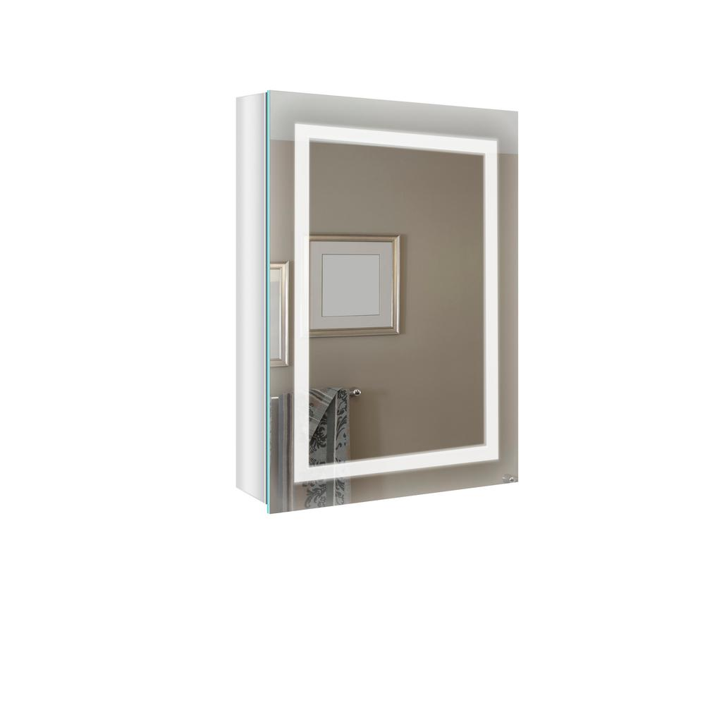 Renin 20 In W X 27 5 In H Antica Surface Mount Medicine Cabinet