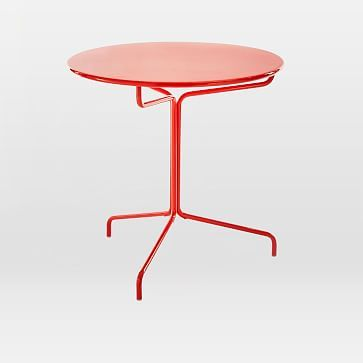 Soleil Metal Bistro Table #westelm