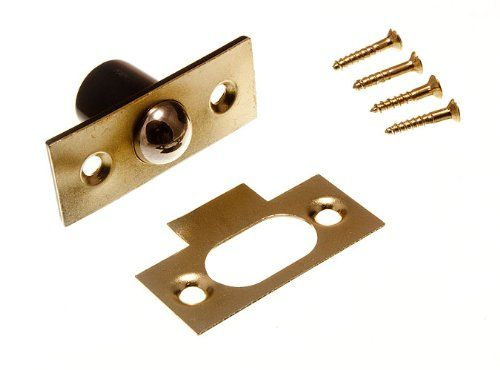 £2.85 BALES CATCH TUBULAR BALL LATCH WITH SCREWS 19MM 3/4 INCH