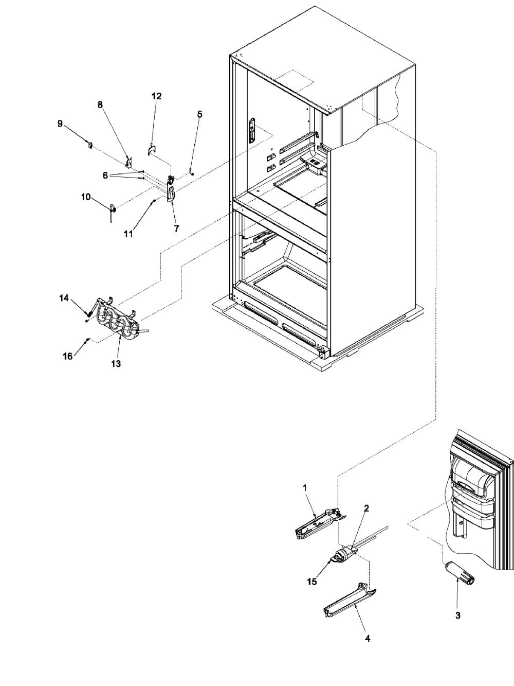 Looking For Kenmore Elite Model 59673503201 Bottom Mount Refrigerator Repair Replacement Parts Kenmore Elite Kenmore Refrigerator Repair