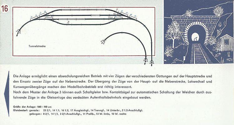 Weiche für Berliner Links TT Modelleisenbahn