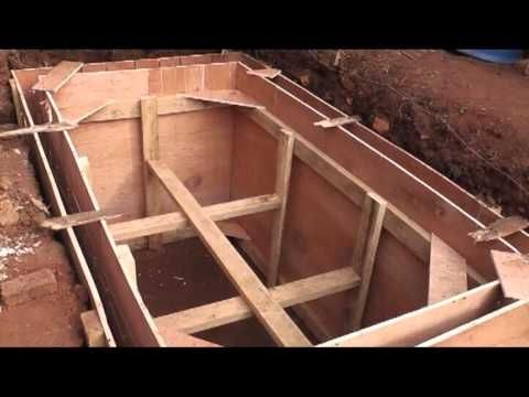 Septic Tank Being Built Youtube Septiguay Pinterest