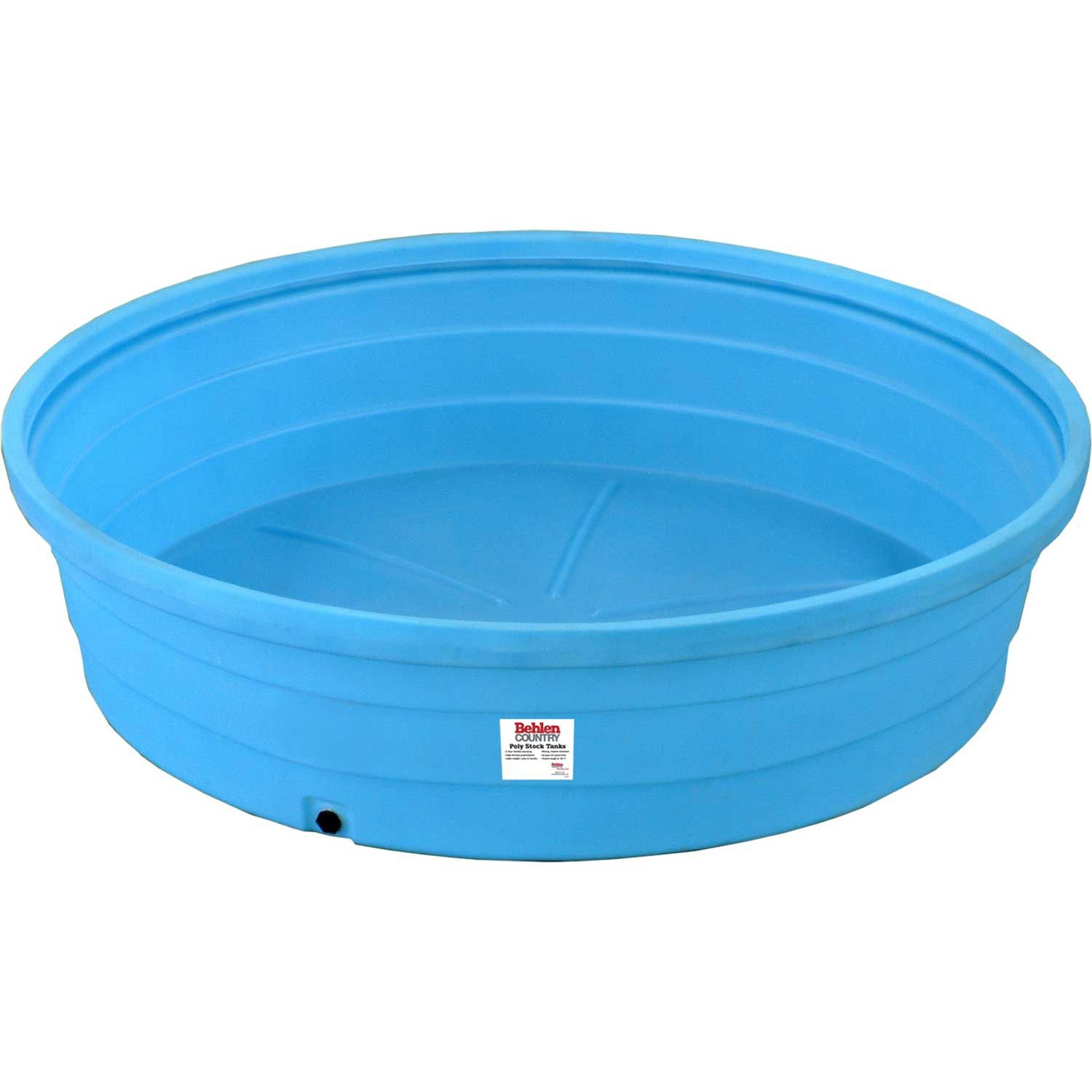 Behlen Country Poly Stock Tank 52113088 8 X2 Round 625 Gallon Stock Tank Poly Stock Tank Plastic Stock Tanks