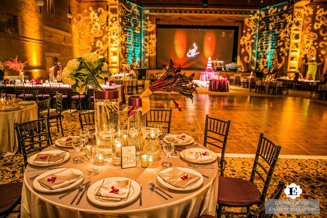 The Kridel Ballroom Which Held Wedding Reception At This Traditional Portland Persian Located In Grand Port