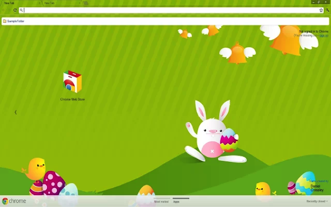 Animated Easter Chrome Theme Easter colors, Easter