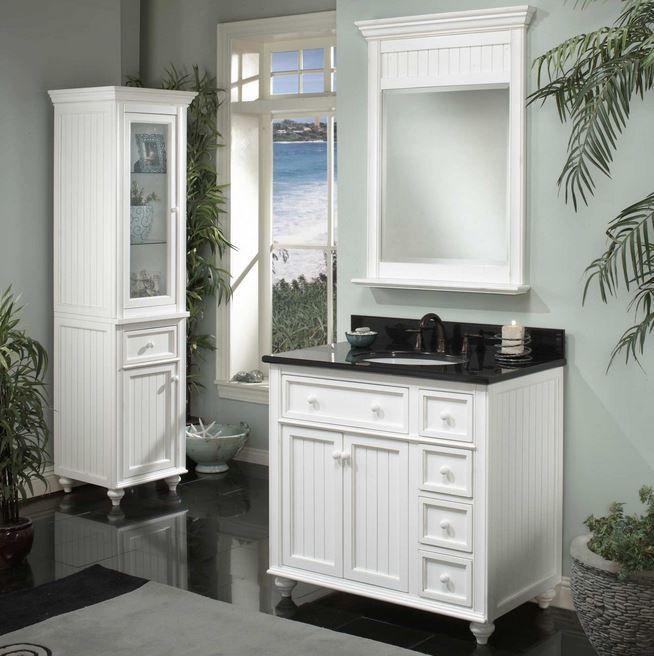 White #Bathroom #Vanities Bathroom Pinterest White bathroom