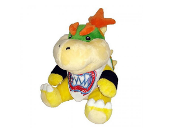 Nintendo Super Mario Bowser Jr Plush 7 Plush Dolls