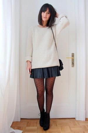 6607a0fda7 how to wear a pleated skirt - Google Search