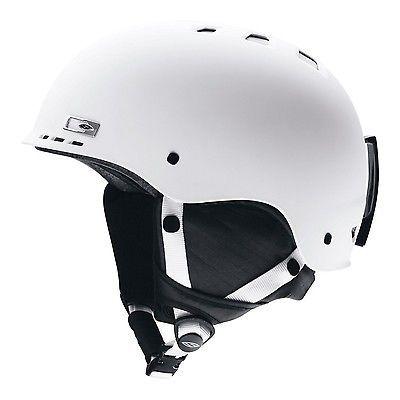 Protective Gear 36260: Smith Optics Holt Snow Helmet Matte White Medium -> BUY IT NOW ONLY: $59.95 on eBay!