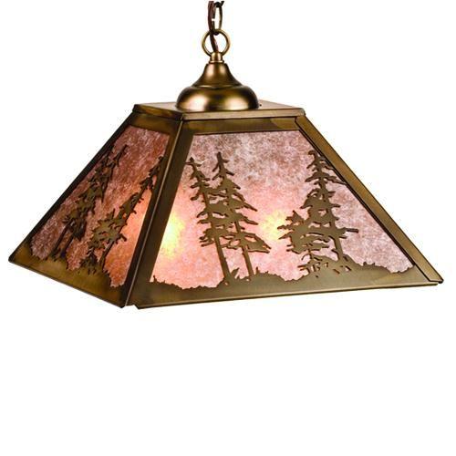 Pine Tree Pendant Light