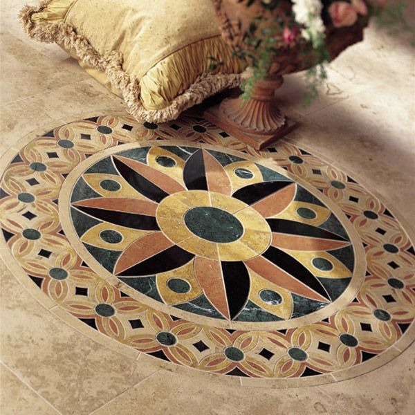 Check Out This Daltile Product Medallion Collection