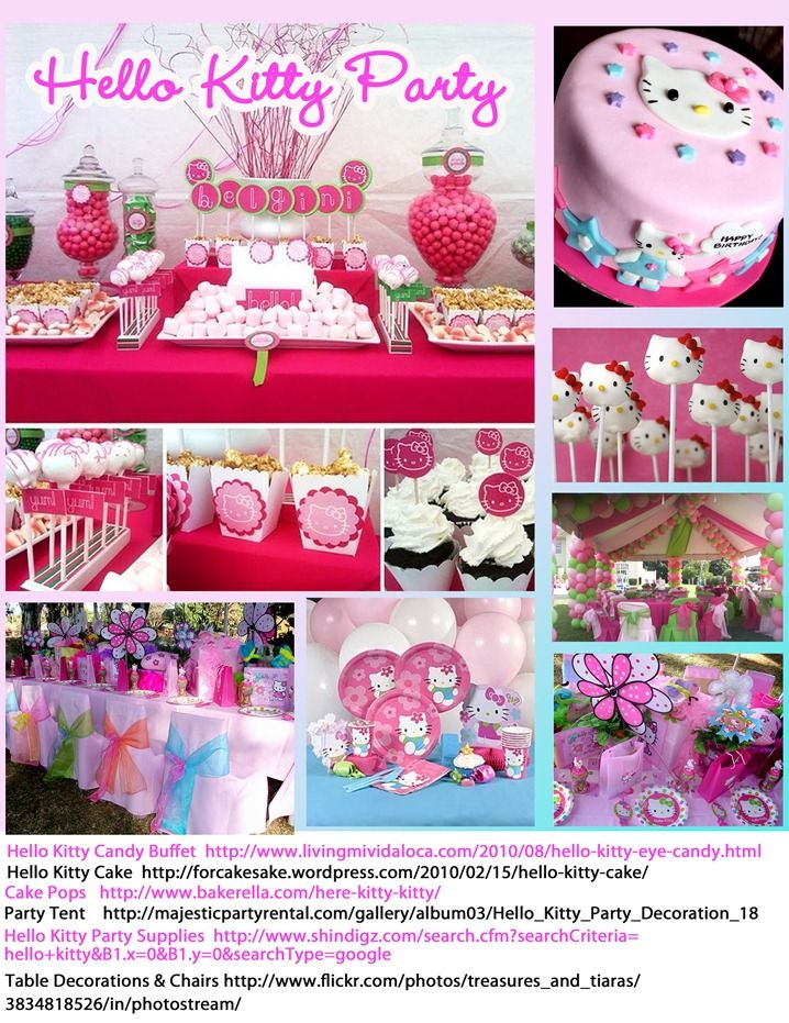 Hello Kitty Party My Daughter Would Love This With Images