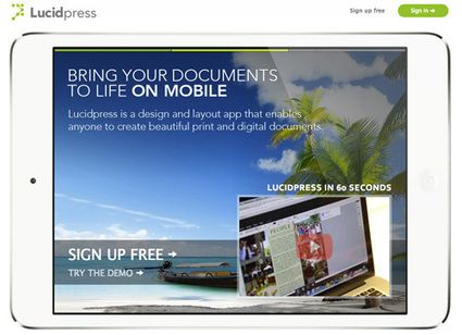 Co-Design And Publish Interactive Documents With Lucidpress