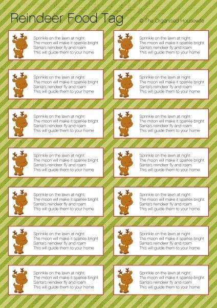 HOW TO MAKE MAGIC REINDEER FOOD Christmas Reindeer food