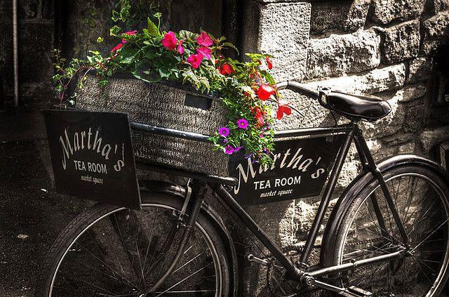 Martha's Tea Room    Market Square, Corbridge, Northumberland