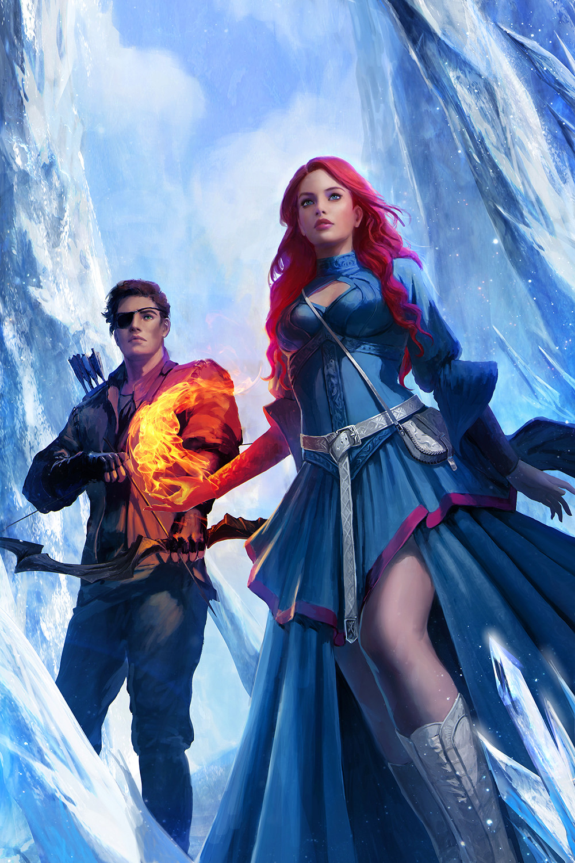 ArtStation Ice Kingdom 1, Caterina Kalymniou Warrior
