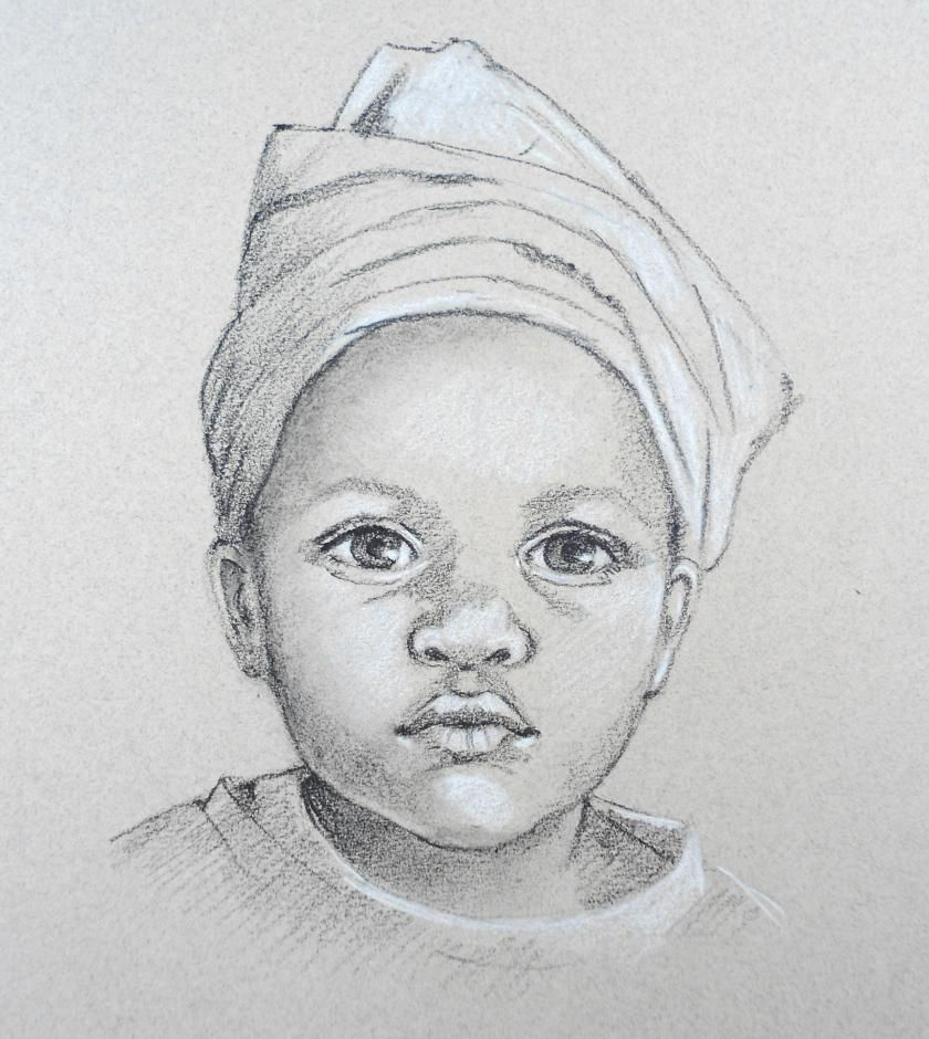 Image result for black and white portrait drawings of ...