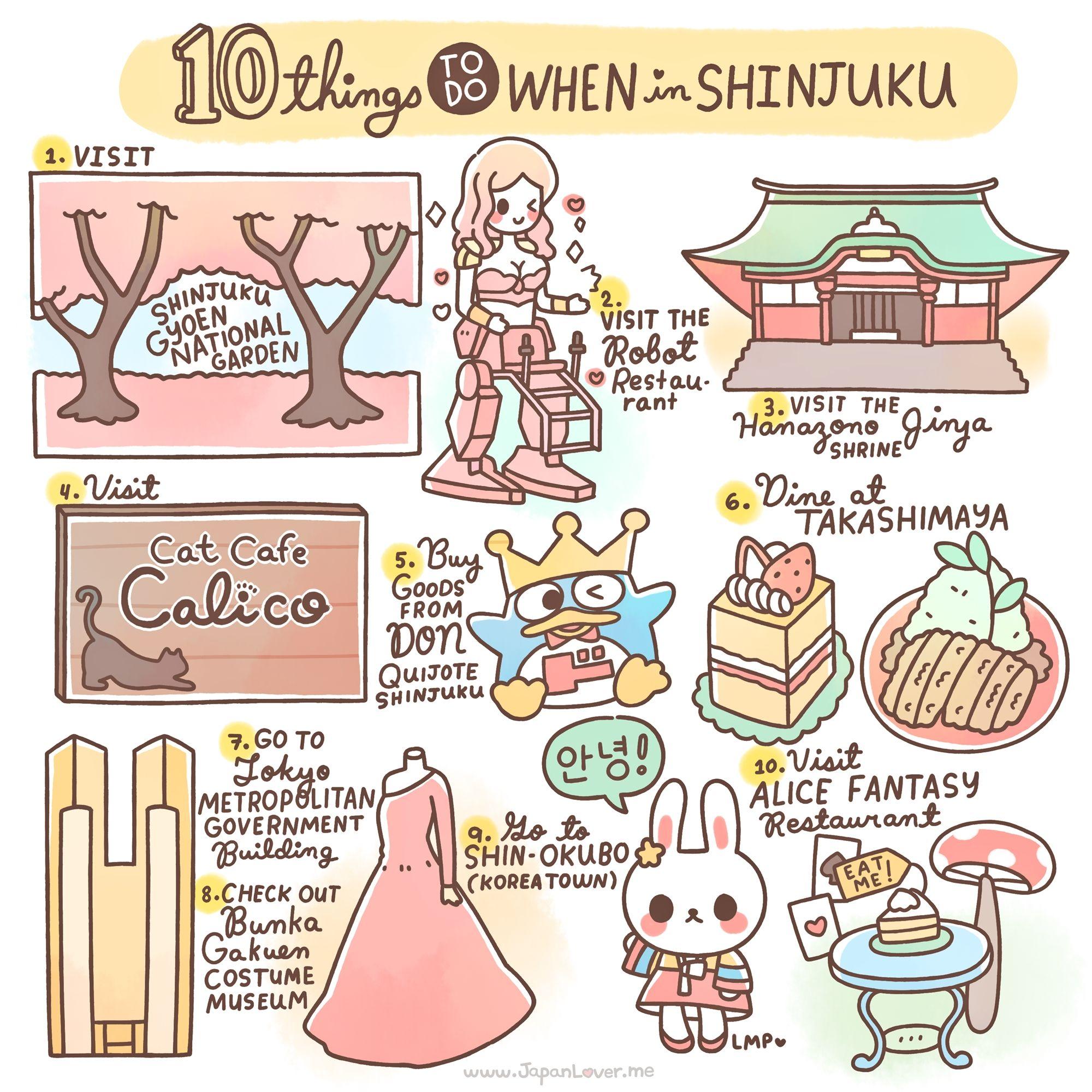 10 Things To Do In Shinjuku, Japan