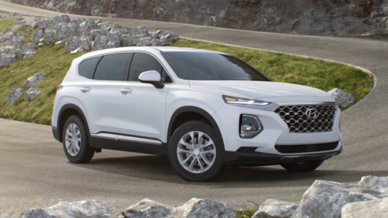 2020 Hyundai Santa Fe new exterior and interior design