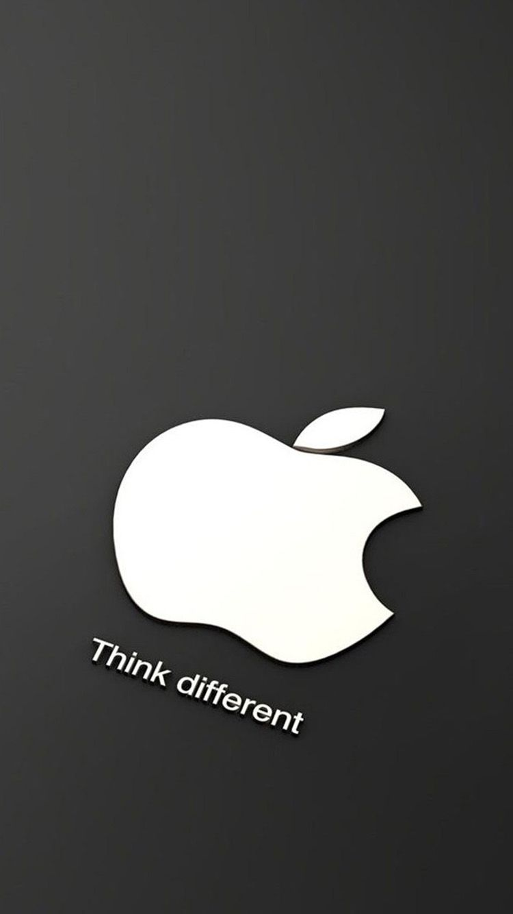 Wallpaper iphone apple logo - White Apple Logo 05 Iphone 6 Wallpapers
