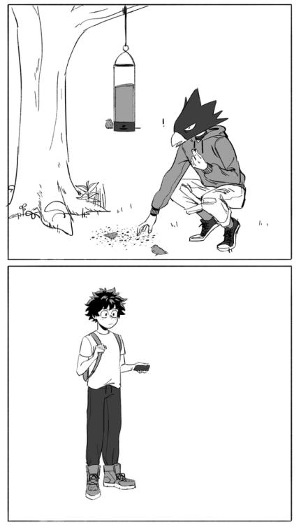 Fumikage Tokoyami Tumblr My Hero Academia Manga My Hero