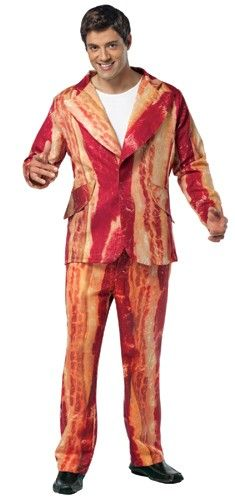 Bacon Suit!  Cory would kill for this... and wear it every day!