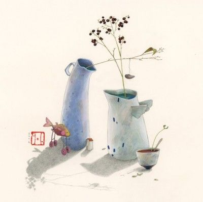 Gaelle Boissonnard Un Peu Plus Loin Art Et Illustration