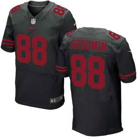 Men's San Francisco 49ers #9 Robbie Gould Black Alternate Stitched NFL Nike Game Jersey