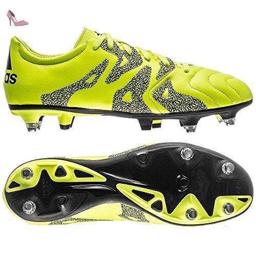 Veste Adidas en cuir x 15.3 SG Chaussures de Football Jaune