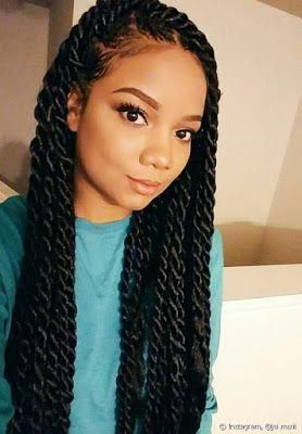 47 Amazing Crochet Braids Ponytails Hairstyles For African