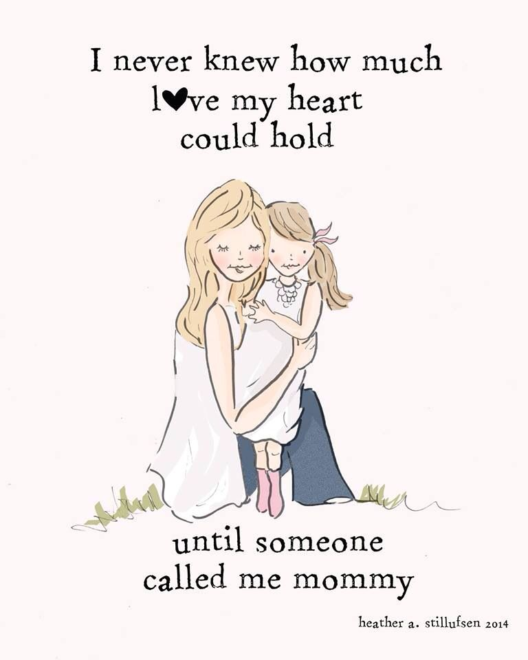 Mother And Daughter Wall Art Mom And Daughter Digital Art Print Family Children S Wall Art Print Daughter Quotes Mommy Quotes I Love My Daughter