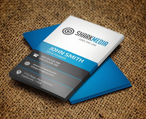 New Modern Style Corporate Business Cards Modern Business Cards Elegant Business Cards Business Card Design