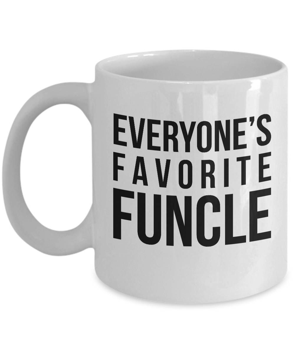 c90d0274c Excited to share this item from my #etsy shop: EVERYONE'S FAVORITE FUNCLE -  Funny Uncle Mug, Uncle Gifts, Uncle Christmas Gift, Uncle Birthday Gift,  Uncle ...
