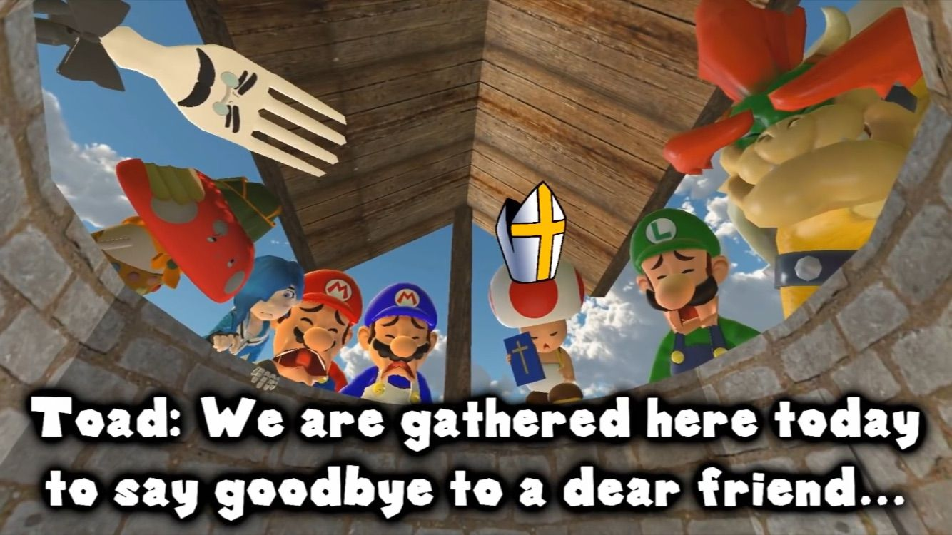Pin By N3ro 182 On Smg4 And Stuff Dear Saying Goodbye Mario