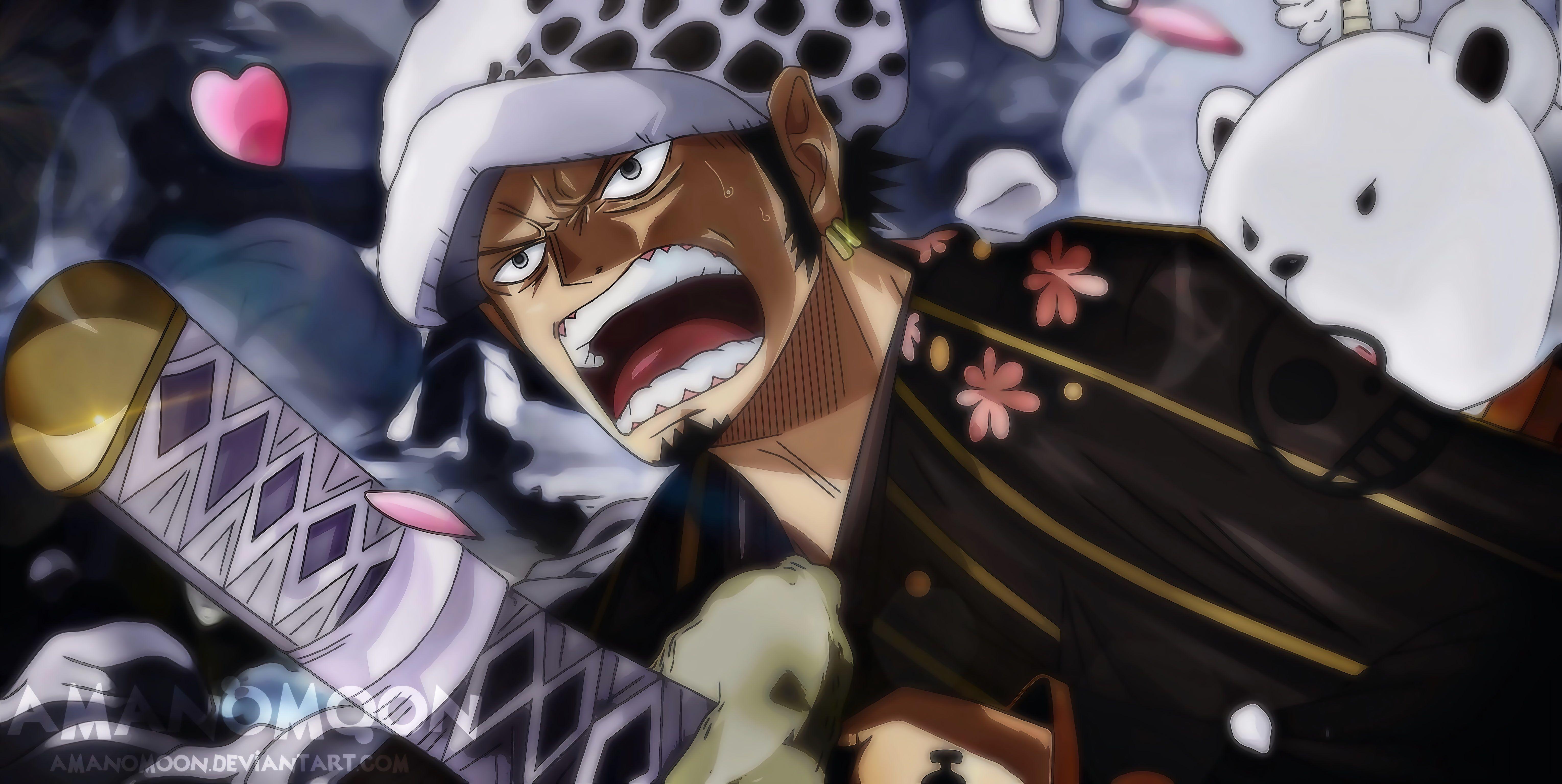 One Piece One Piece Cap 914 Trafalgar Law Amanomoon 5k Wallpaper Hdwallpaper Desktop In 2020 Trafalgar Law One Piece Anime Trafalgar Law Wallpapers