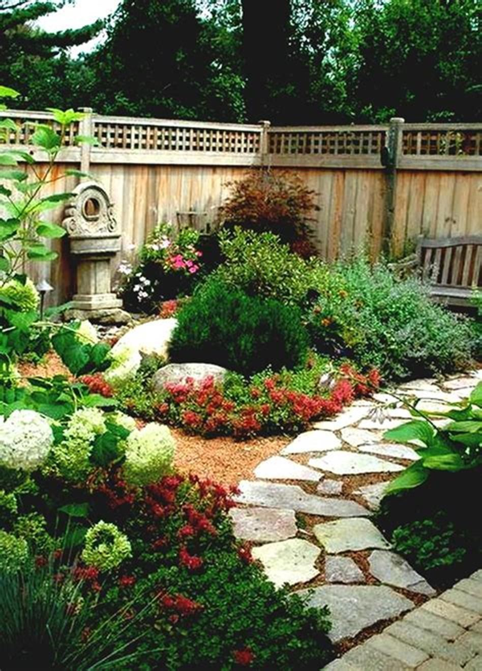 45 Best And Cheap Simple Front Yard Landscaping Ideas Rock