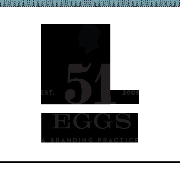 51 Eggs - A Branding Practice